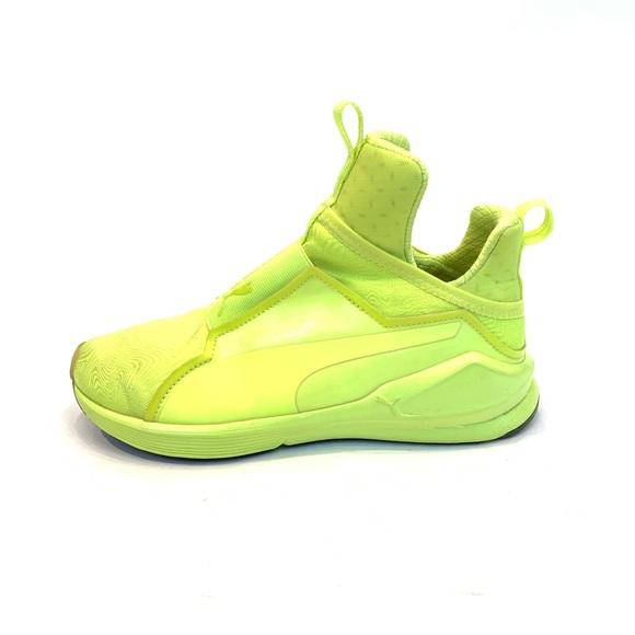 new style 9c3ee 12128 PUMA Fierce Bright in Neon Yellow. M 5c0de917c9bf50d10c90132e
